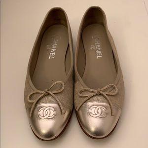 Chanel CC Ballerina flats